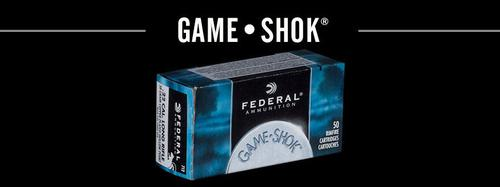 Federal Federal  Game-Shok Rimfire Rifle Ammo 22 LR, CPS, 40 Grains, 1240 fps, 500 Rounds, Boxed?>