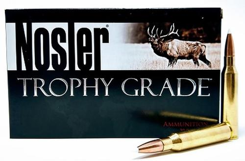 NOSLER TROPHY GRADE 338 LAPUA MAG 225GR ACCUBOND BOX OF 20?>