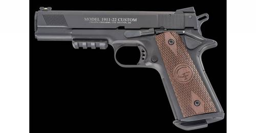 Chiappa Chiappa 1911 .22LR Custom 5'' Barrel Matte Black?>