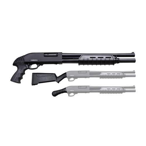 Canuck Enforcer Pump Action Shotgun 12 Ga, 3″ Chamber, 17″Barrel 4+1?>