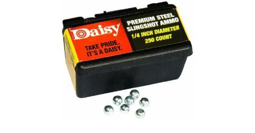 Daisy Powerline Premium 1/4 Inch Slingshot Ammo 250 Count?>