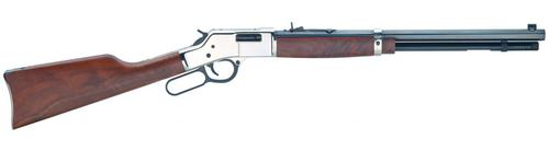 Henry Henry  Big Boy H006 M  Lever Action Rifle 357 MAG, MLMaresleg lever RH, 20 in, Blue Wood Stk, 10+1 Rnd?>