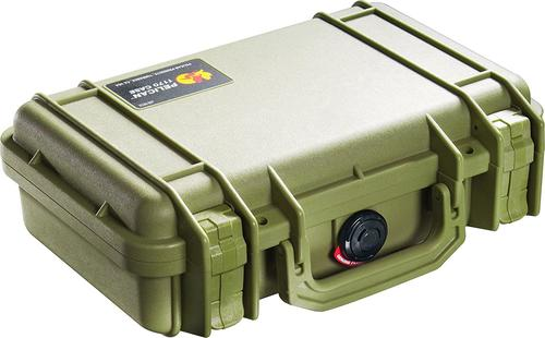 Pelican 1170 Case with Foam  OD Green?>