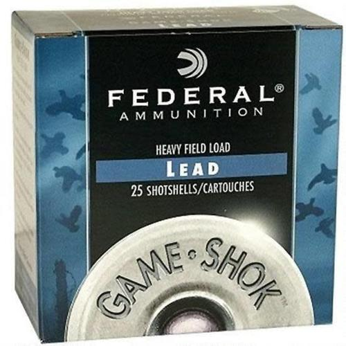 "Federal Game-Shok .410 Bore Ammunition 25 Rounds 2.5"" #7.5 Lead 1/2 Ounce H41275?>"