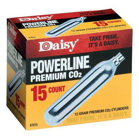 Daisy Powerline CO2 Cylinders / 15-Pack?>