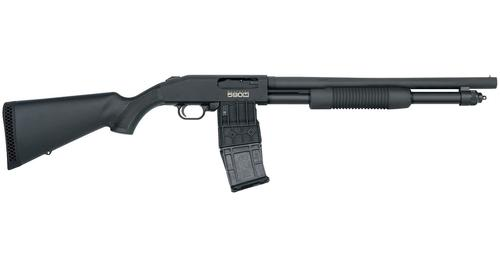 Mossberg 590M Detachable Magazine 12 Gauge 18.5″ Barrel?>