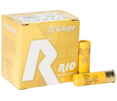 RIO 20GA 2 3/4IN 1250FPS 7/8OZ #8 SHOT?>