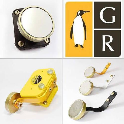 Guga Ribas Frontal Magnetic Attachment Gold?>