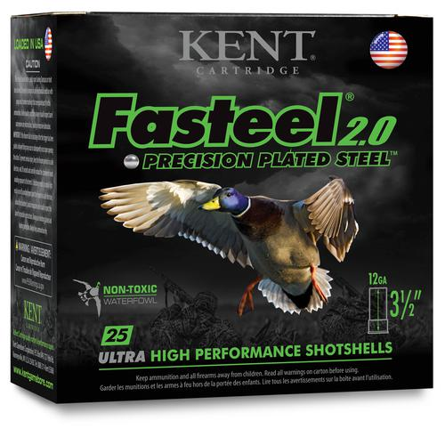 "Kent Fasteel 2.0, 12GA, 3 1/2"", 1 1/2OZ, 1450FPS-BB single?>"