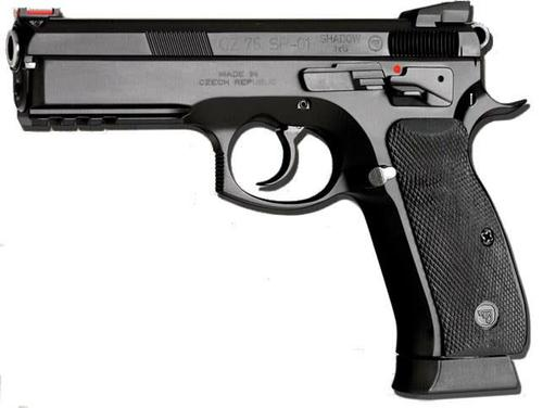 CZ 75 SP-01 Shadow 9mm 4.6″ Black?>