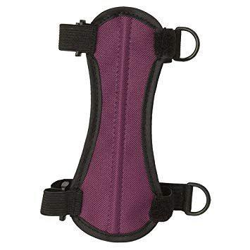 OMP 2-Strap Youth Armguard - Purple?>