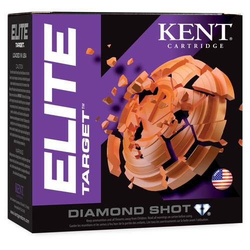 Kent Cartridge Kent Cartridge Elite Target 12GA 2-3/4'' 1OZ. 1200FPS - 7.5 single?>