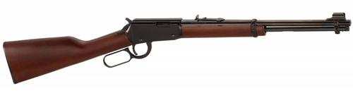 Henry Henry Lever  Rifle h001Y 22LR Ambi BluedWood Youth 16.125 In 12+1rd?>