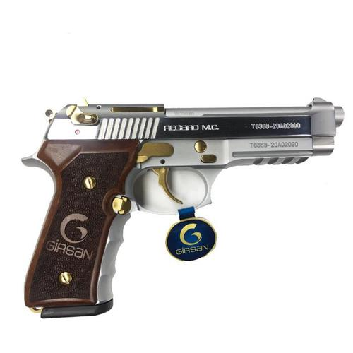 Girsan Regard Compact MC Gold Pieced W/Rail 4.3″ Pistol 9MM?>