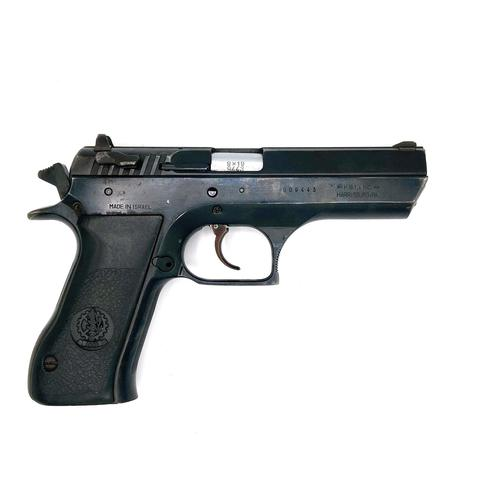 "IWI JERICHO 9MM 4.5""BBL SURPLUS GRD1 BLK?>"