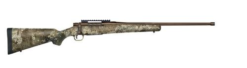"MOSSBERG PATRIOT RIB 308WIN 22""FLT THRD BBL PB CERAKOTE TRUE TIMBER?>"