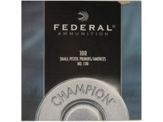 Federal #100 Small Pistol Primers 1000ct?>