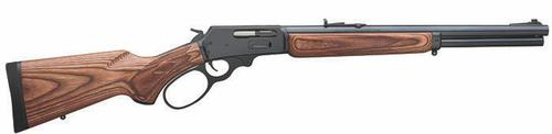Marlin Lever Action Rifle RH 18.5'' 45-70 GOVT BlueWood(5+1) 1895GBL?>