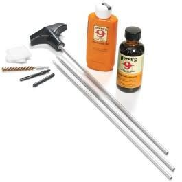Hoppe's Rifle Cleaning Kit for .22 .221 .223 .224 and.225 Caliber w/Aluminum Rod U22B?>