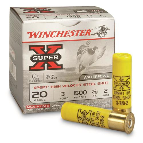 "WINCHESTER X-SUPER XPERT HIGH VELOCITY STEEL SHOT 20GA  3"" #2?>"