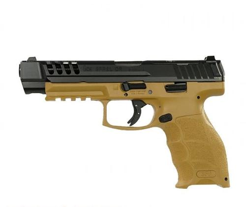 Heckler & Koch SFP9L-OR PB 5″ 9mm Pistol RAL8000?>