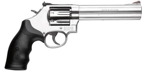 Smith & Wesson 686 Plus Distinguished Combat Revolver 357 MAG, 6 in, Syn Grp, 7 Rnd, Medium S/S Frame?>