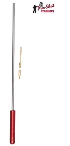 "PRO-SHOT 10GA-410GA 36""STAINLESS STEEL ROD WITH PATCH HOLDER?>"