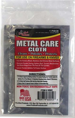 Pro-shot  Metal Care Cloth for use firearm&knifes 33cmx38cm?>