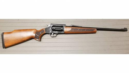 canuck Canuck Evolve Revolver Shotgun  410Ga. x 3'', 26'' Chrome Line Barrel, Two Cylinders and Three Chokes?>