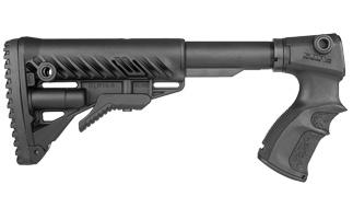 FAB M4 Stock for Rem 870 Black?>