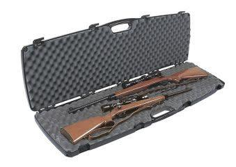Plano Special Edition, Double Scoped Rifle and Shotgun Case, Black?>