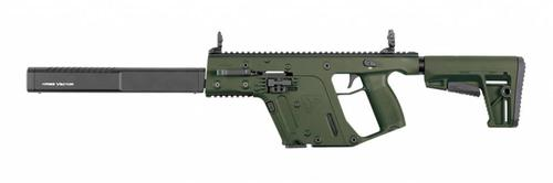 "Kriss Vector GEN II CRB Enhanced Semi-Auto Rifle, 9mm, 18.6"" Barrel, Olive Drab?>"