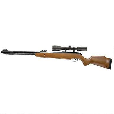 Umarex USA Browning Leverage Air Rifle Wood .177, 490fps?>