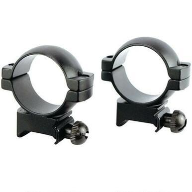 Simmons 30mm, High Scope Rings, Matte Black?>