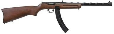 "Pietta PPS-50 Wildcat 22 LR Semi, 16"" Barrel, Wood Stock?>"