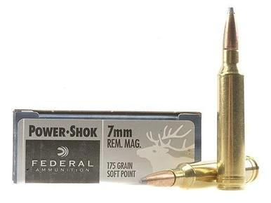 Federal 7mm Rem Mag 175gr Power-Shok box of 20?>