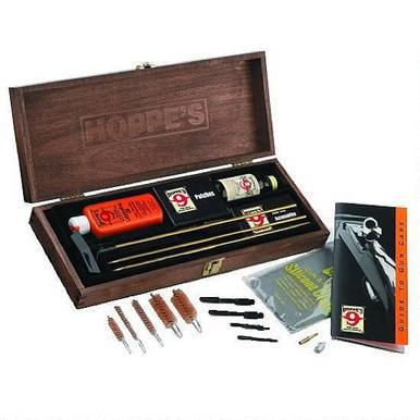 Hoppe's Deluxe Cleaning Kit Wooden Box?>