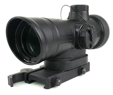 Meprolight Mepro 4X Day Scope, 5.56 Chevron Reticle?>
