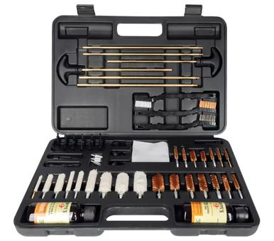 Hoppe's 62 Pc Cleaning Kit, W Storage Case?>