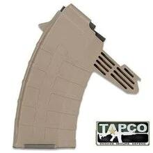 TAPCO Magazine SKS 7.62x39mm Russian 5-Round Polymer Tan, Used.?>