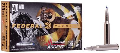 Federal Terminal Ascent .270 Win, 136 Gr, 20 Rds?>