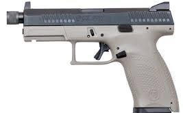 "CZ P-10 C 9mm, 4.6"" Threaded Barrel, Urban Grey?>"