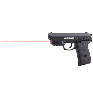 Crosman Night Stalker CO2 Semi Air Pistol W Internal Laser?>