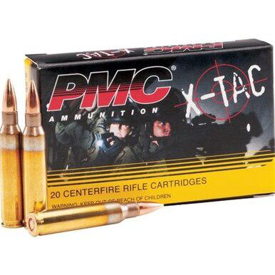 PMC 556 NATO 55gr XP193 FMJ X-TAC, 20 Rounds?>