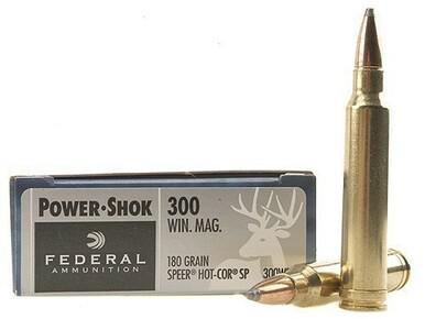 Federal 300 Win Mag 180gr Power-Shok box of 20?>