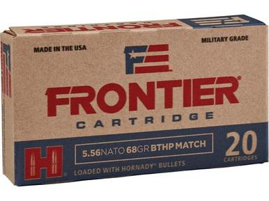 Frontier Cartridges 5.56 Nato 68gr BTHP Match, Box of 20?>