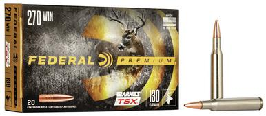 Federal Barnes TSX .270 Win, 130 Gr, 20 Rds?>