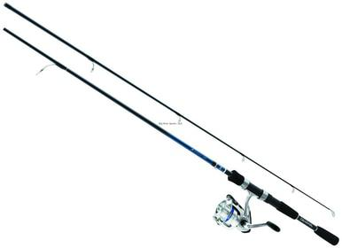 Daiwa D-Shock Pre-Mounted Spinning Combo, 1 BB Reel, 7'?>