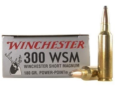 Winchester Super-X Ammunition 300 WSM, 180gr, Box of 20?>