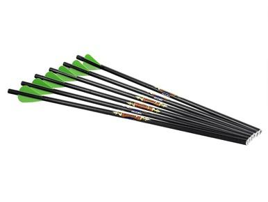 "Excalibur Diablo 18"" Carbon Arrow 6pk?>"
